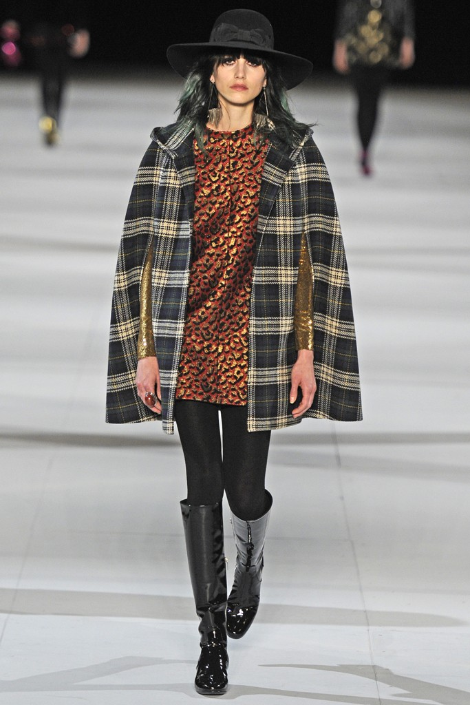 4. saint laurent fall 2014