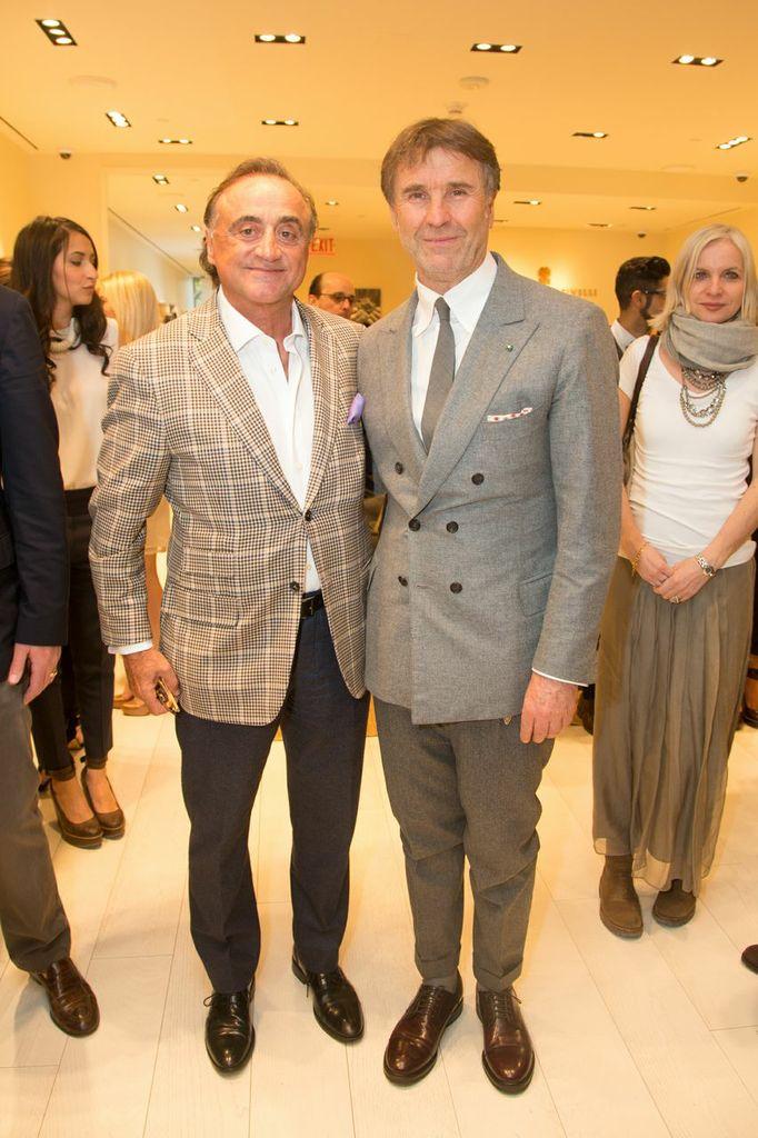 Brunello - Alberto Lombardi and Brunello Cucinelli