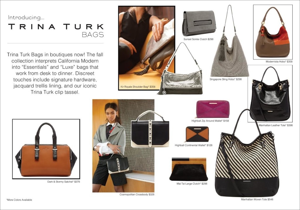 Introducing Trina Turk Bags