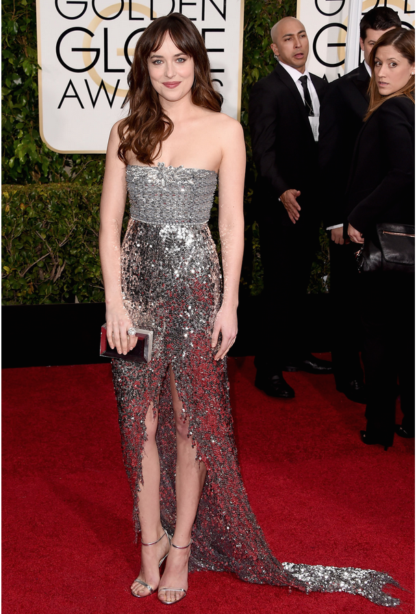 d8e55278c0 golden globes - dakota johnson - chanel