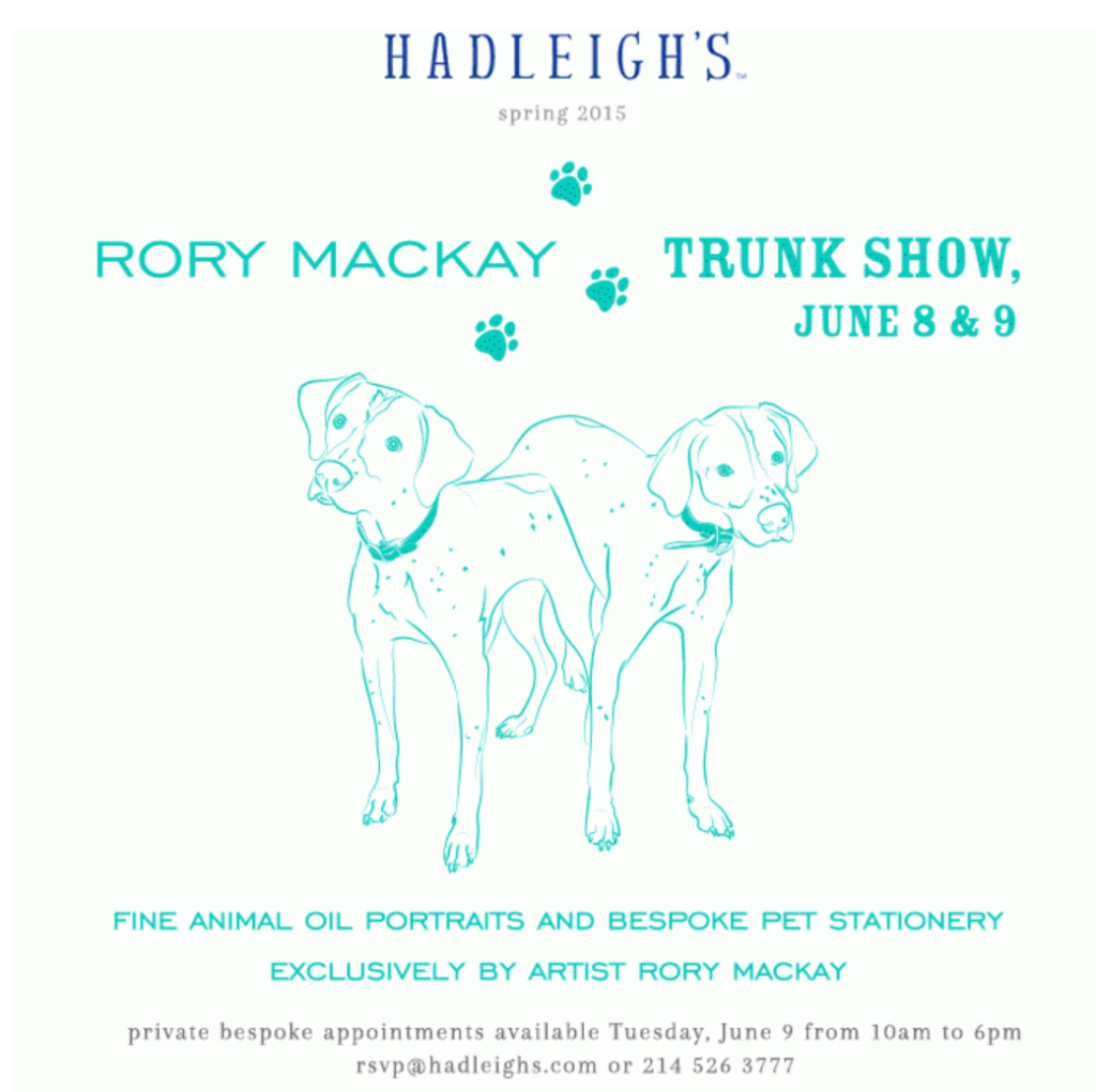 trunk show hadleighs