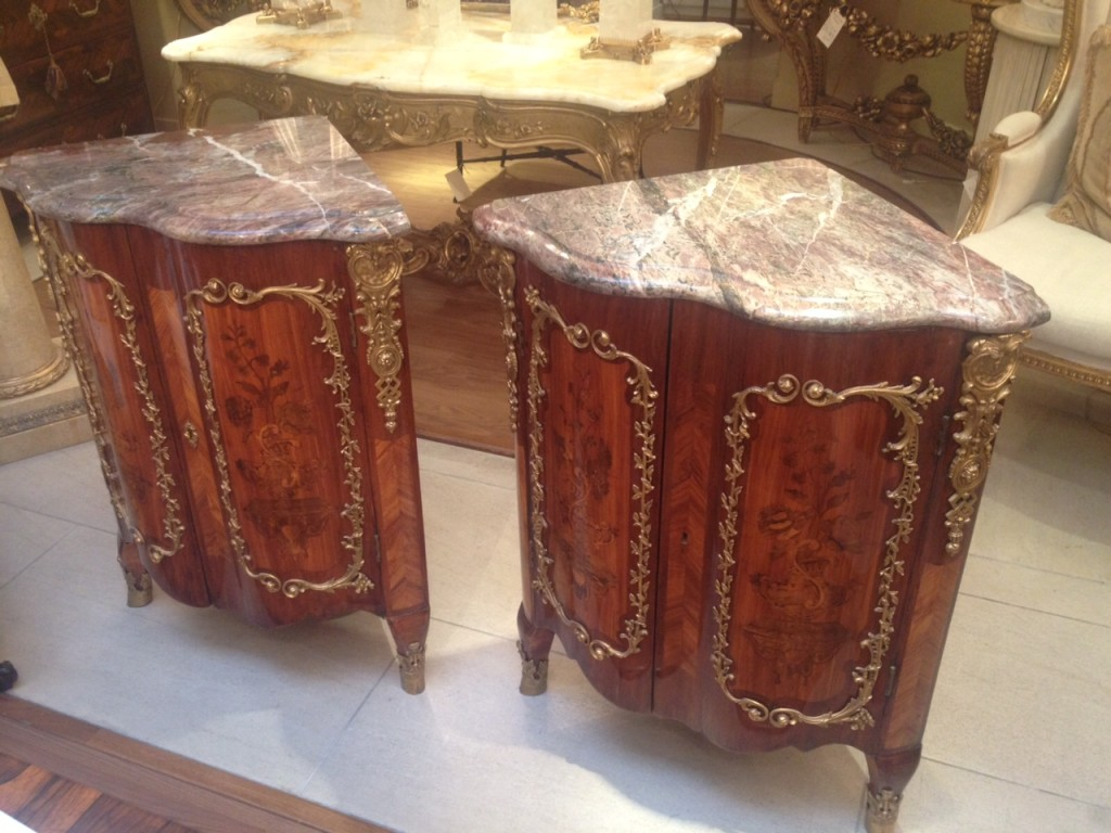 Museum 18th Century Corner Cabinets 3