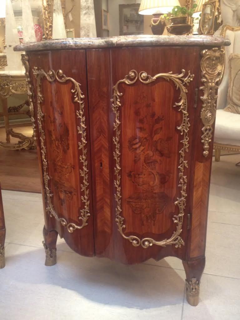 Museum 18th Century Corner Cabinets
