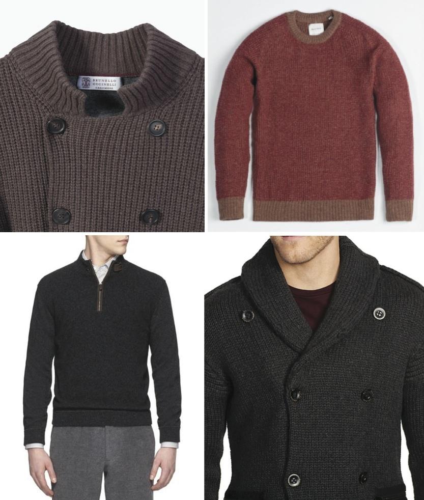 menswear fall 2014 sweaters