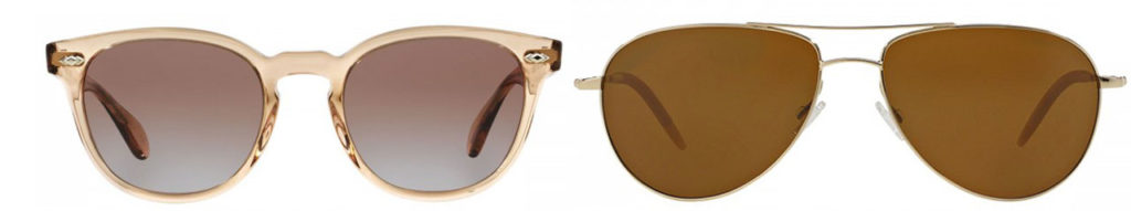 His and her sunglasses with 100% UVA/UVB protection will come in handy during the consistent daylight from mid-May to mid-August. Sheldrake Plus and Benedict by Oliver Peoples, available at Peepers, $335 - $450.