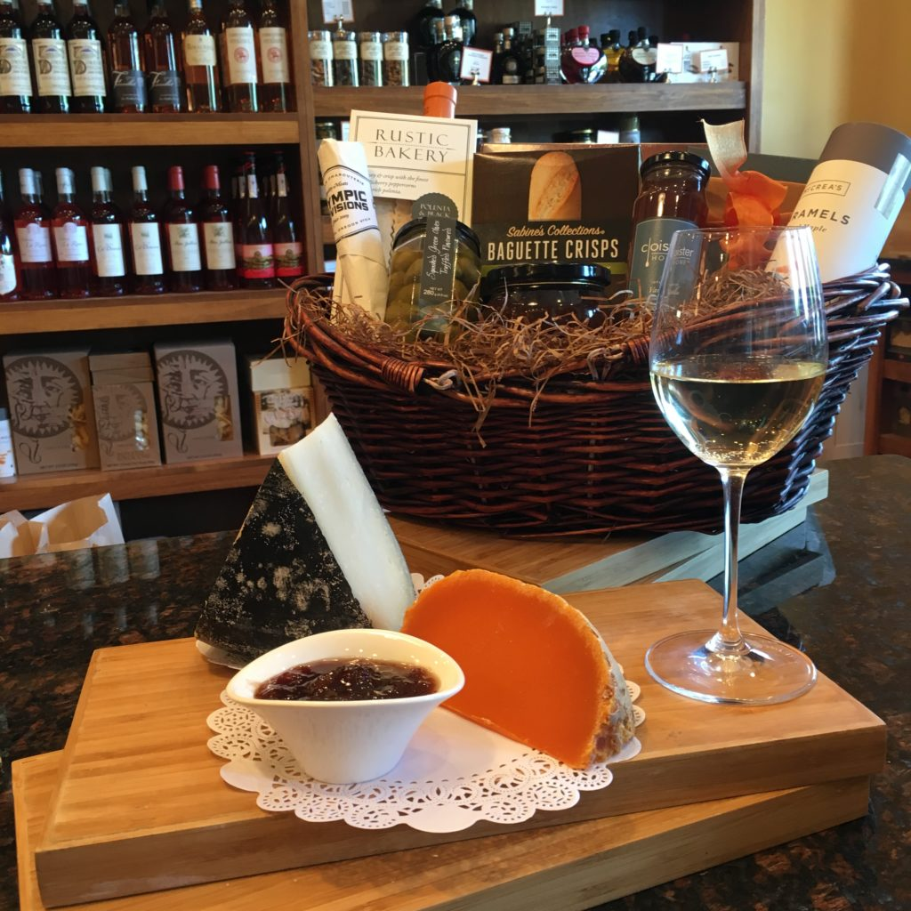 Pick up a pre-made gift basket or let the associates at Molto Formaggio create a custom one for you.