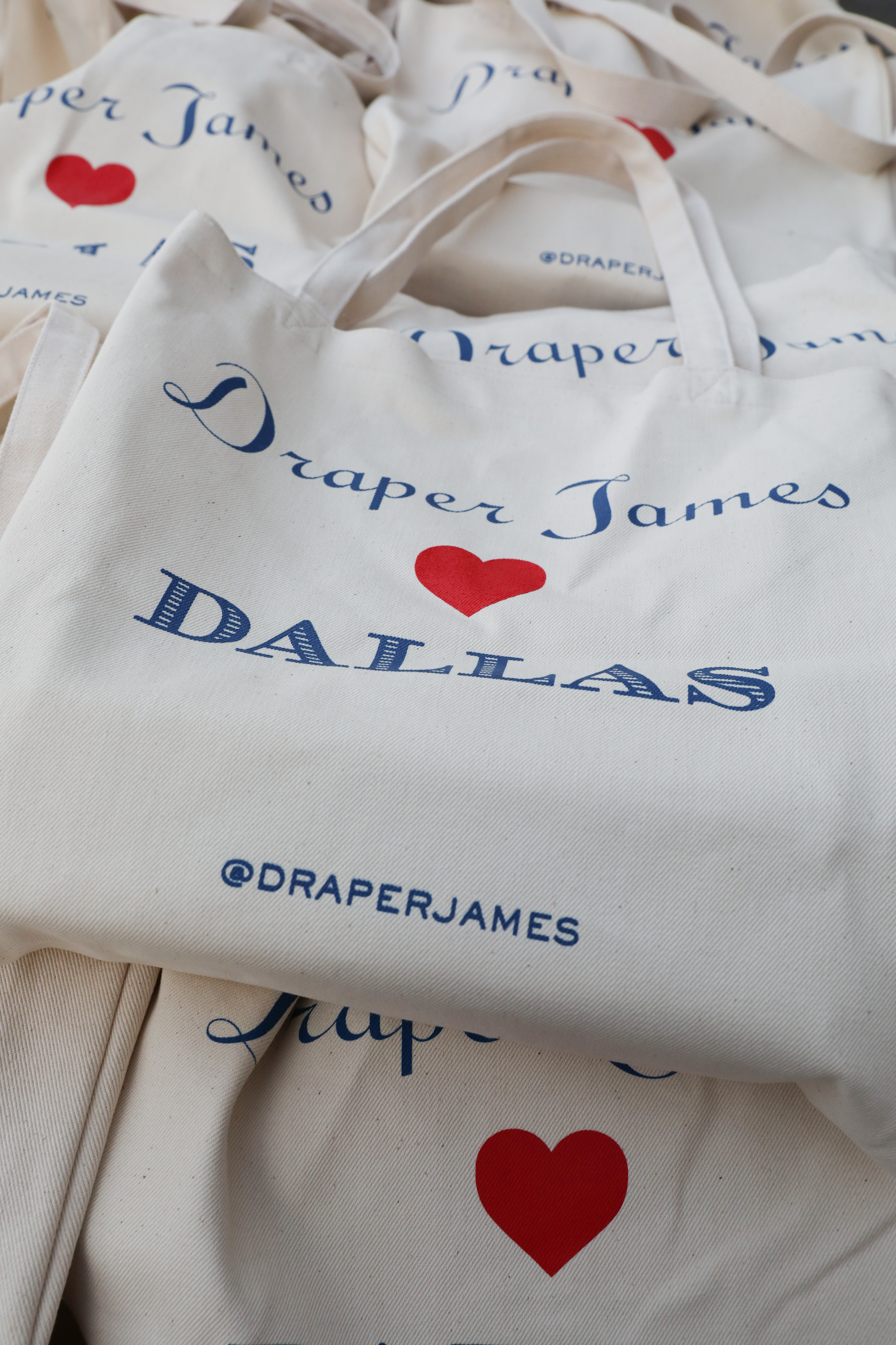 Guests were gifted with a specialty Draper James tote filled with goodies.
