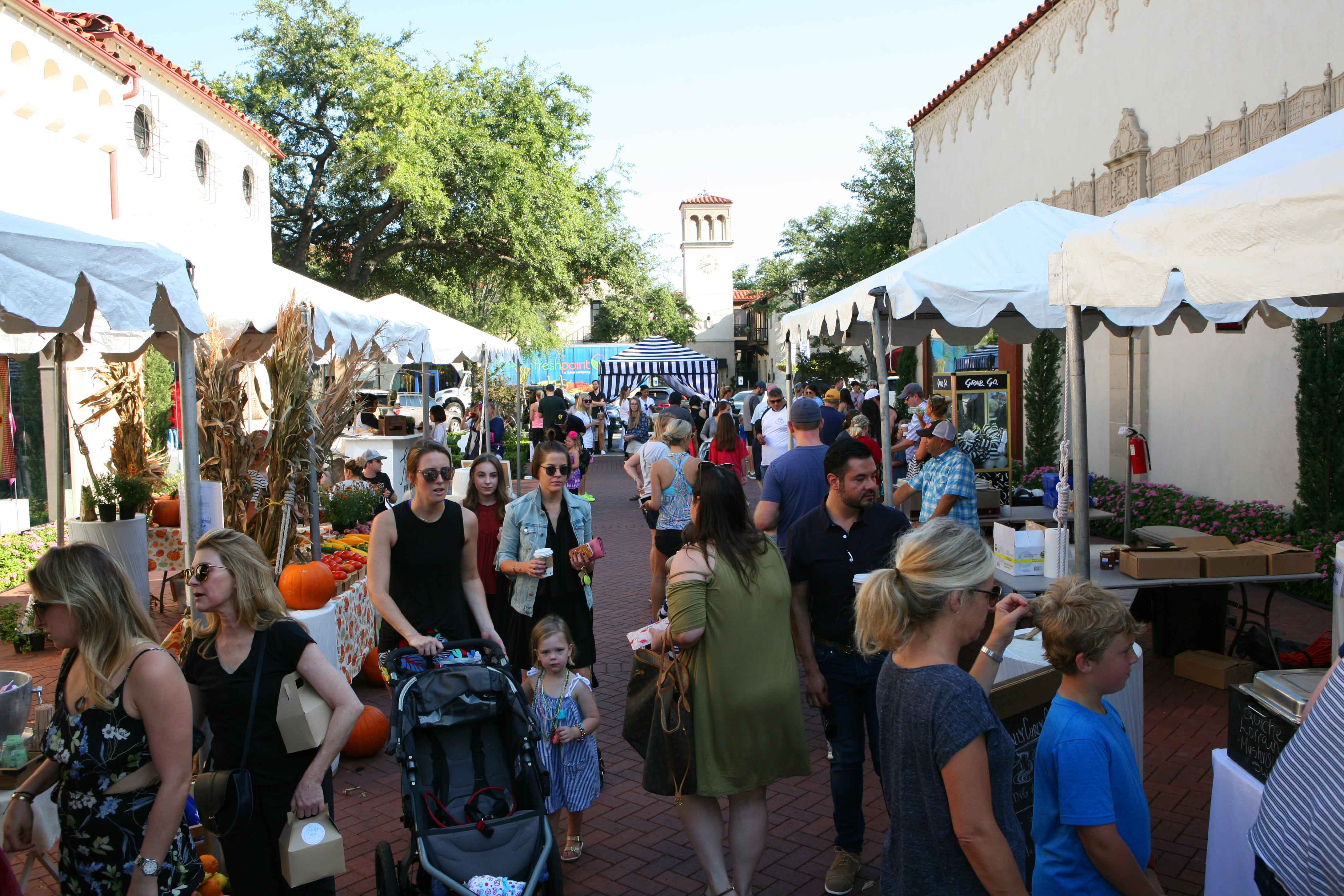 Guests explore the LOCAL vendors and activities.