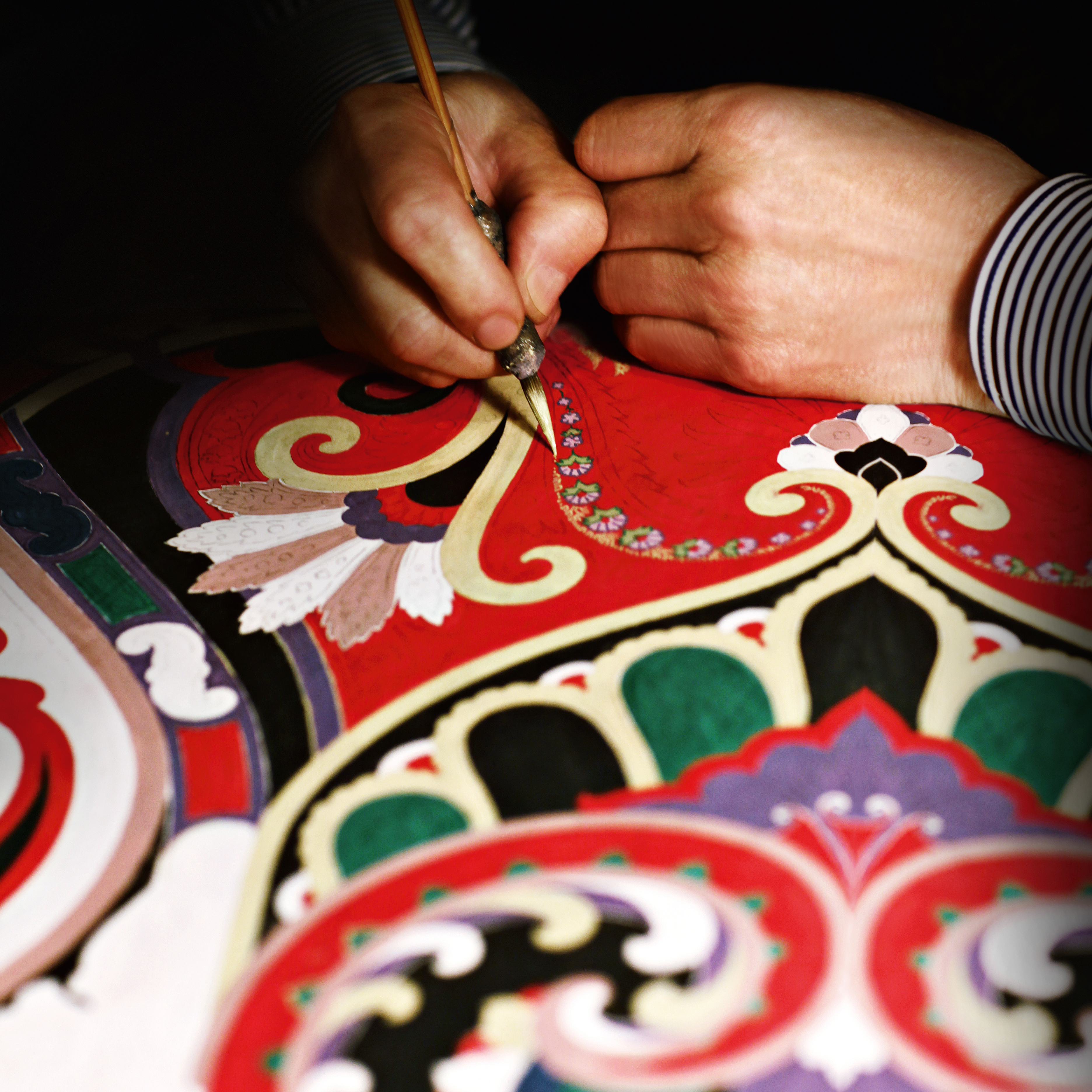 The Paisley Motif made its debut in 1981 with a furnishing textiles line, quickly becoming set as the brand mark of identity.