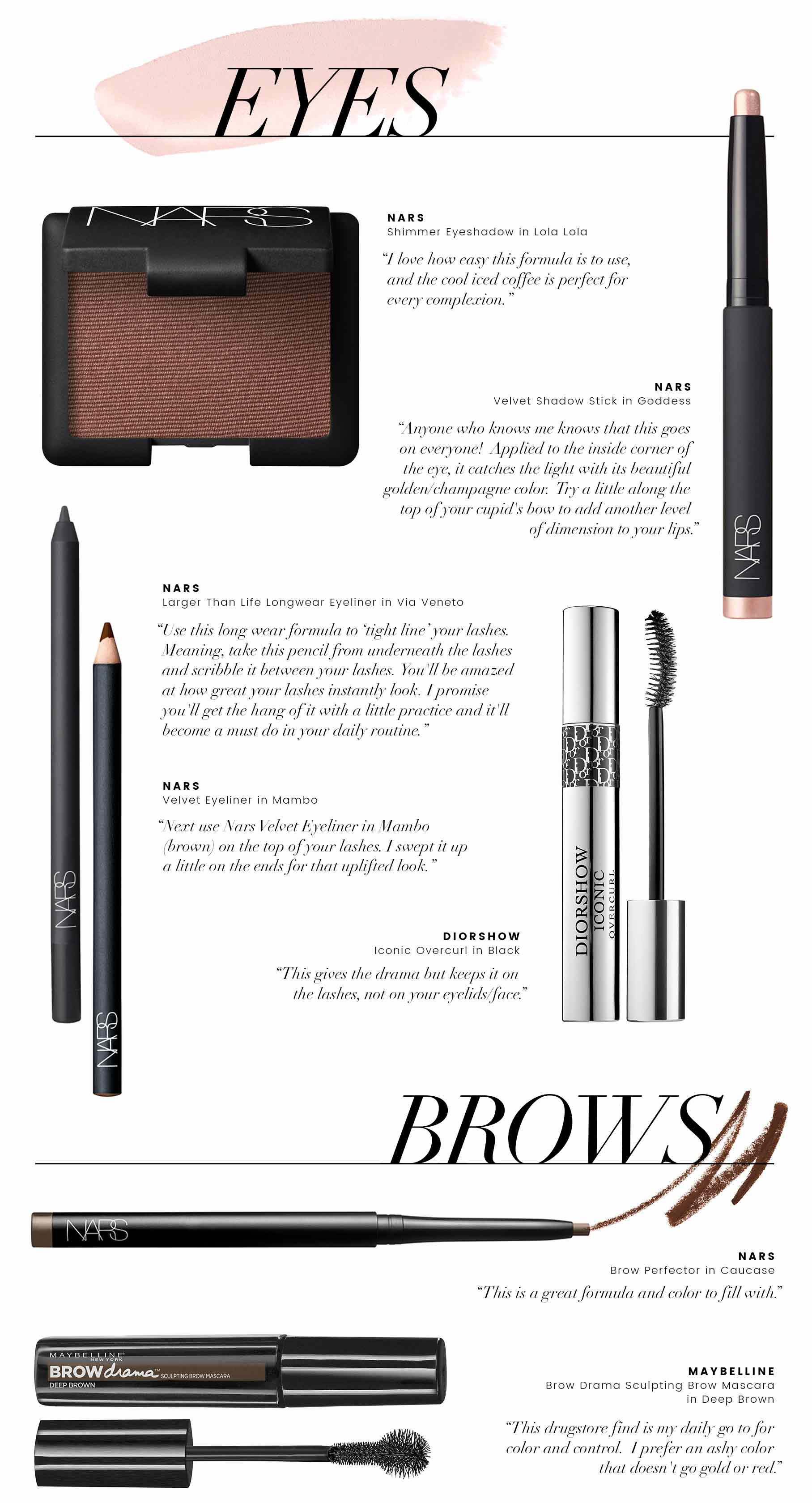 beauty tips - eyes and brows