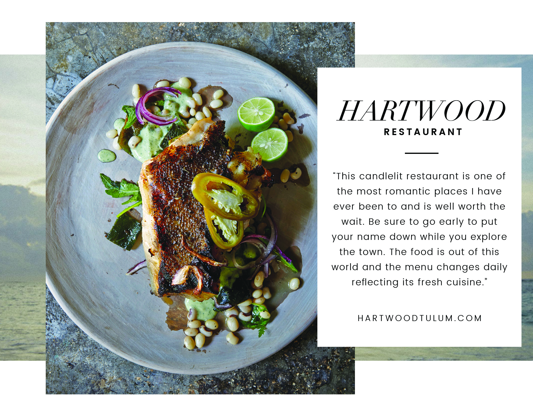 Traveling Tulum with Cristina Lynch - Hartwood Restaurant