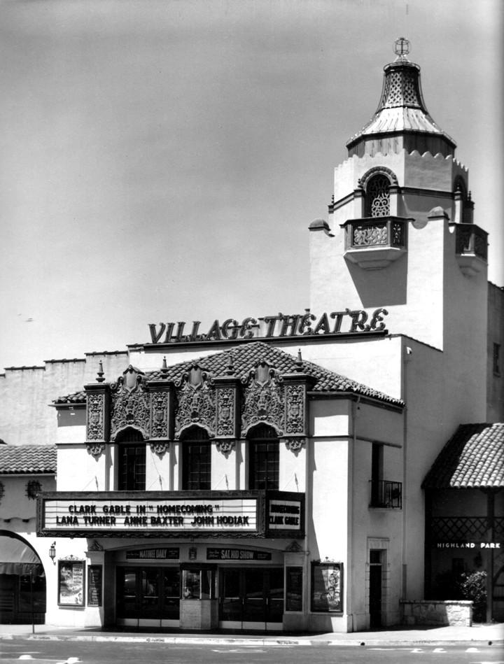 El teatro de Highland Park Village