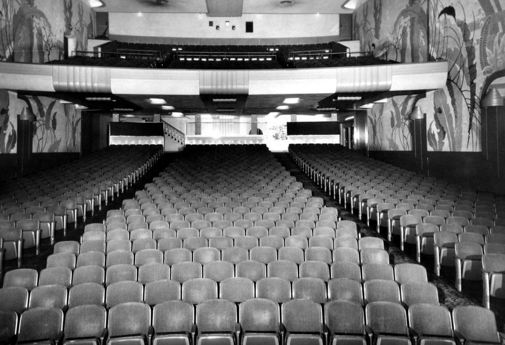 Asientos de teatro vintage