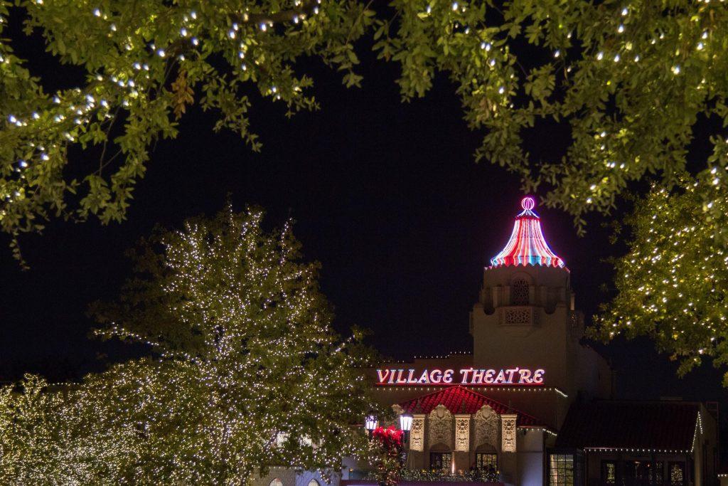 Teatro con luces