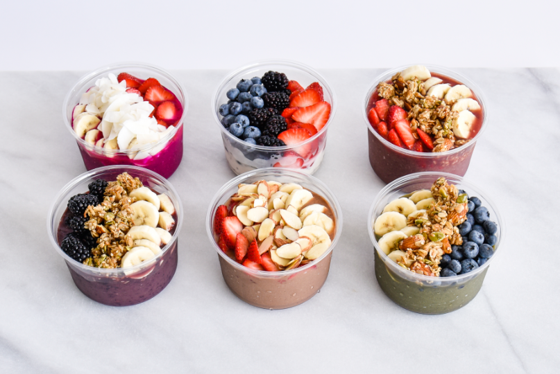 Juice Bar bowls