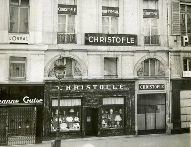 The French House opened its first shop on rue Royale in Paris in 1897.