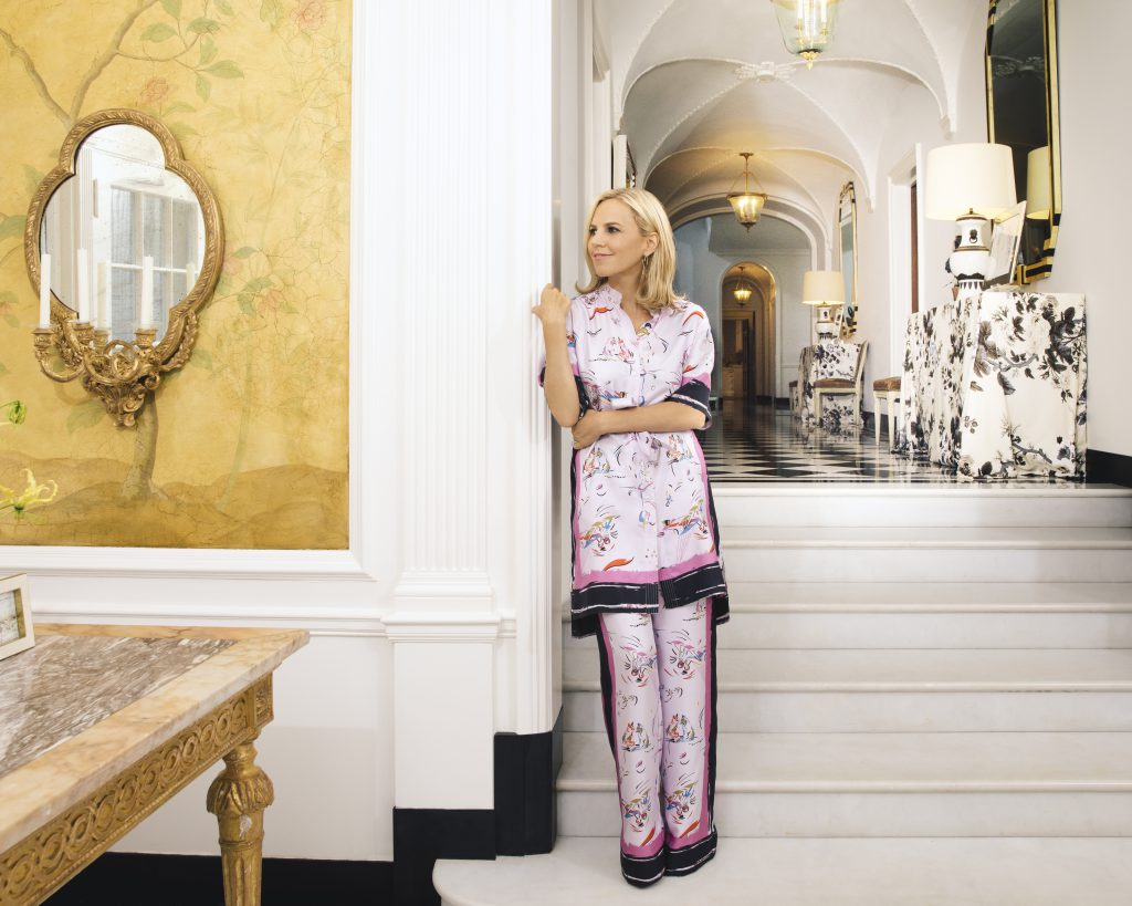 Tory Burch launched her fashion line from the comfort of her own NYC apartment.