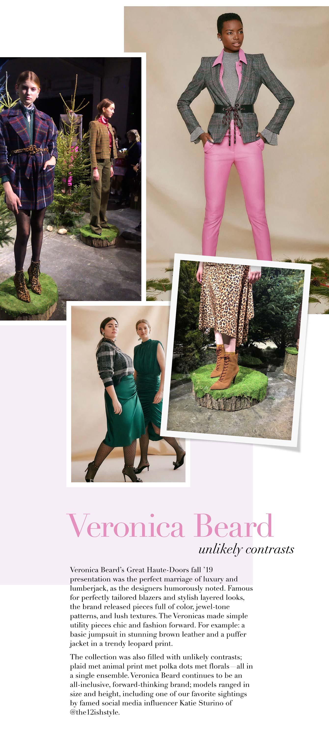 NYFW Veronica Beard