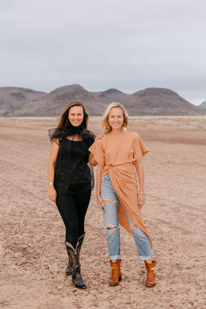 Sisters and Miron Crosby co-owners, Sarah and Lizzie, launched their bespoke boot brand in 2015.